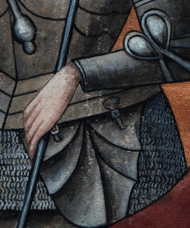 Borger i middelalderbyen Sundkøbing