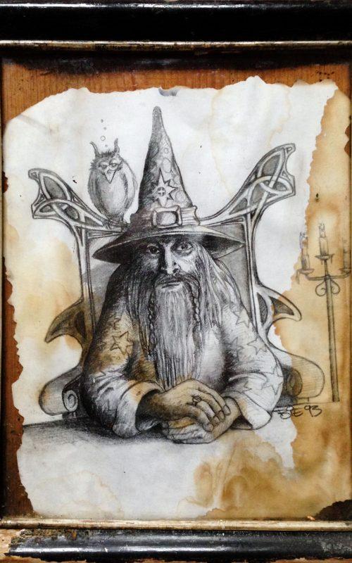 Søren Bie - tegning