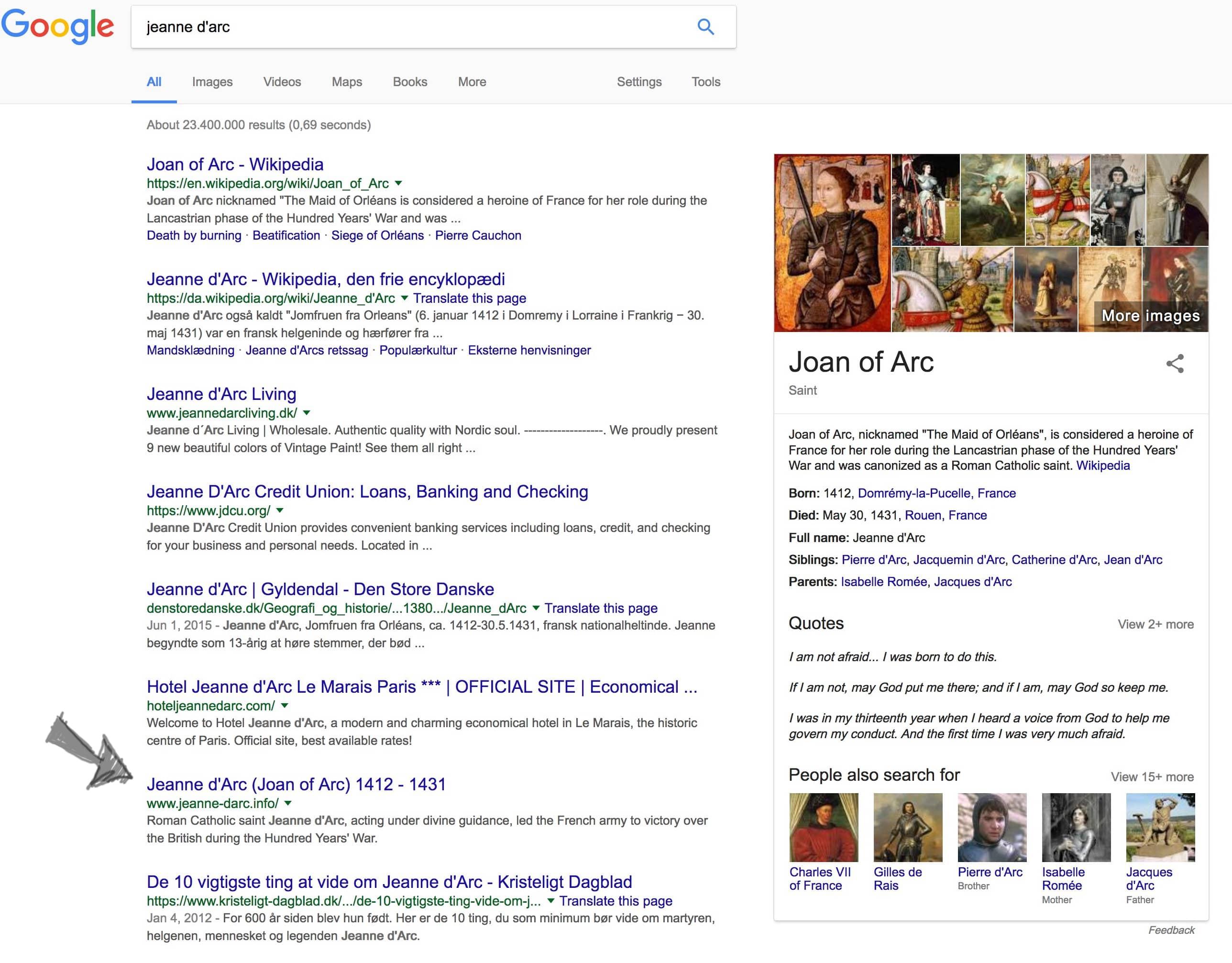 Dansen med Google