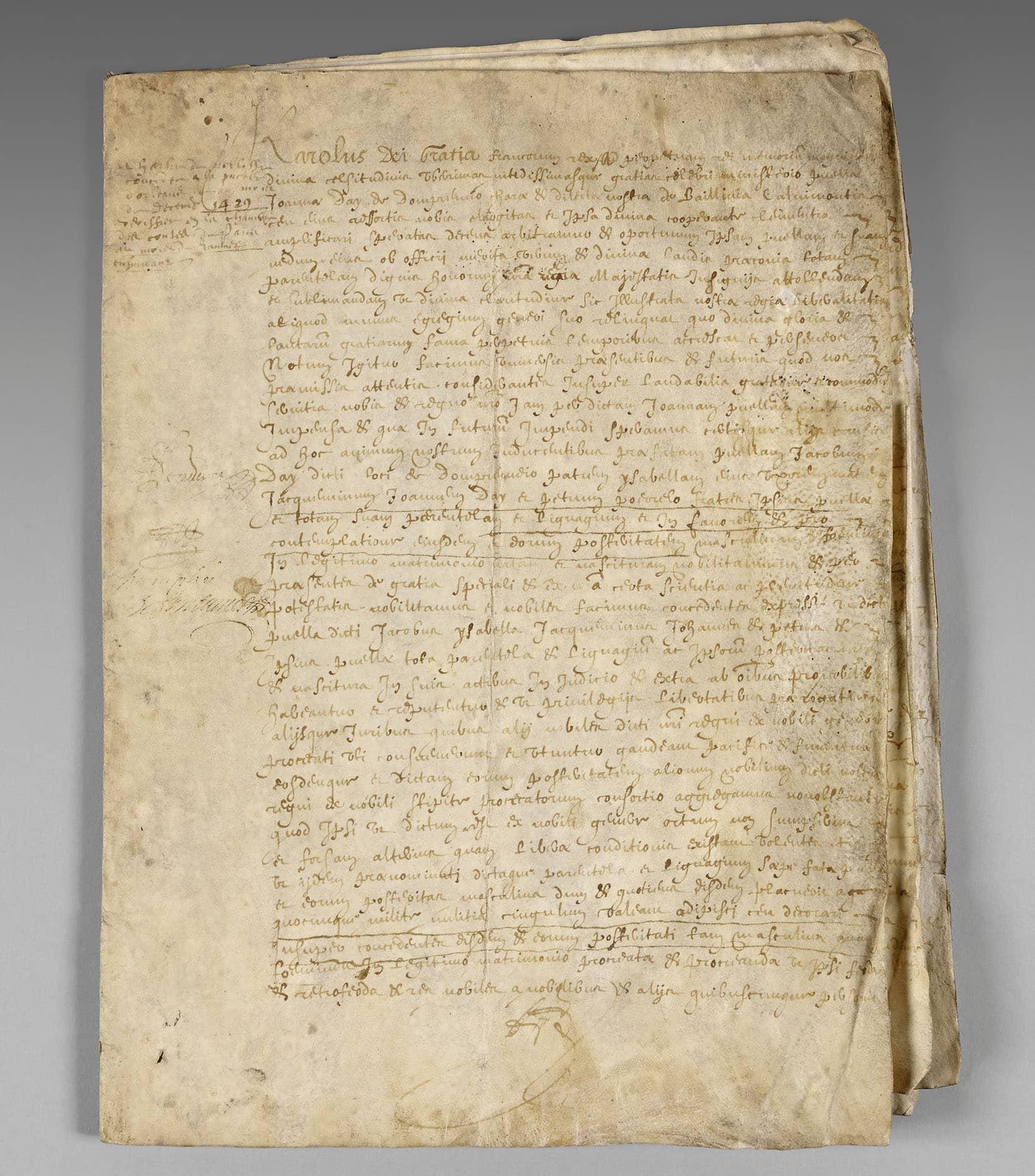 Nyt Jeanne d'Arc dokument