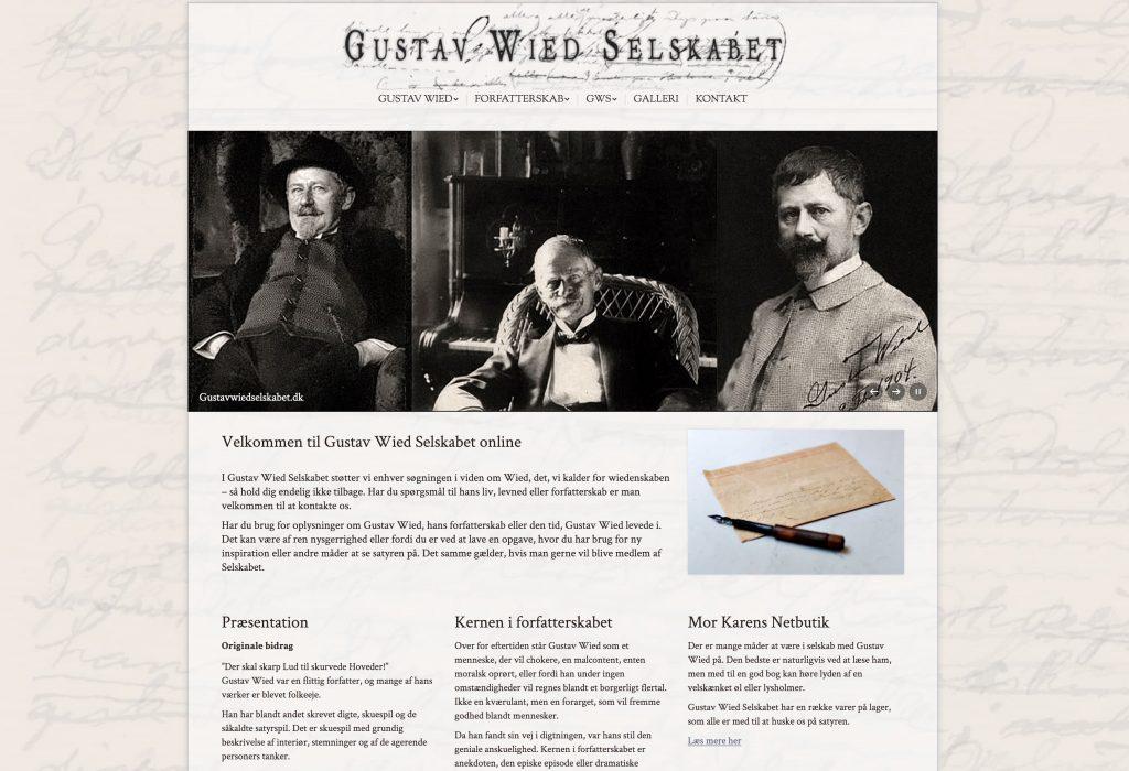 www.gustavwiedselskabet.dk